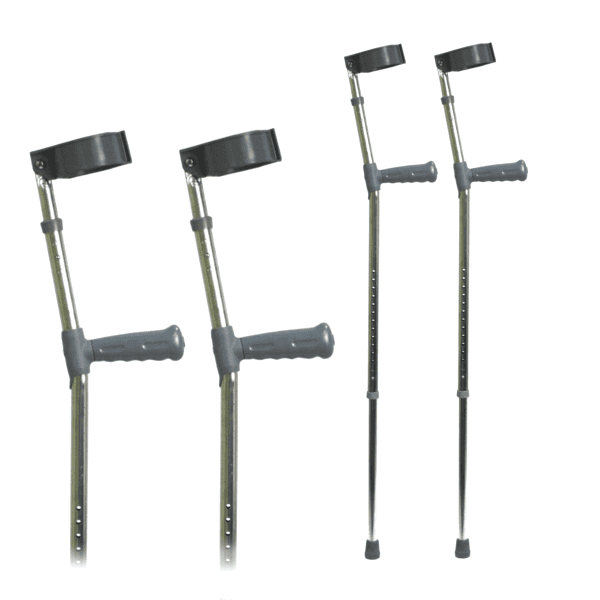 Double Adjust Crutches