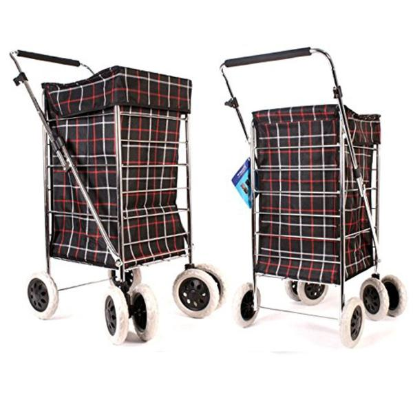 6 Wheel Shopping Trolley