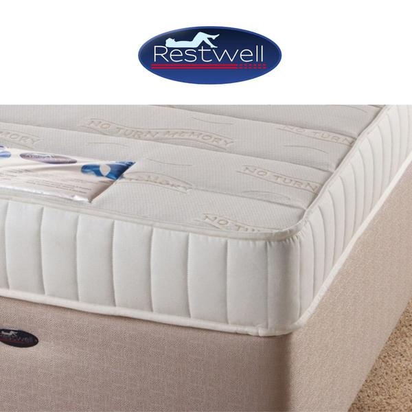 Restwell No Turn Memory Foam