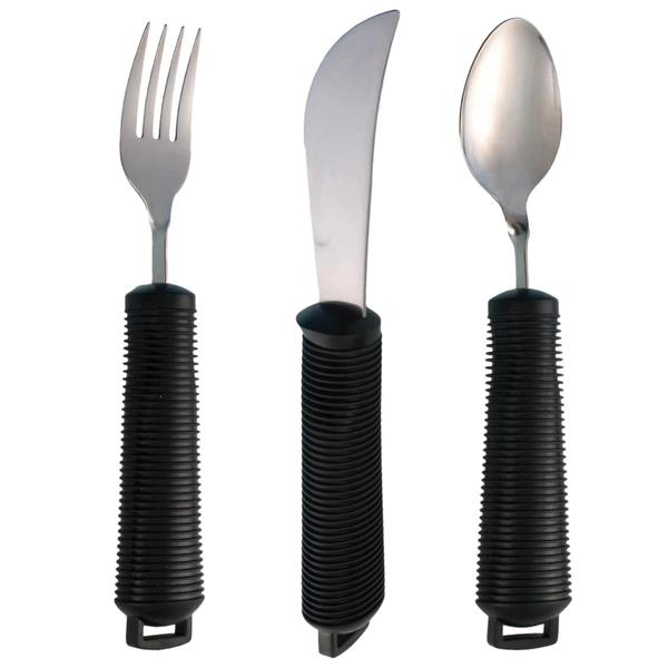 Wide Grip Bendable Cutlery