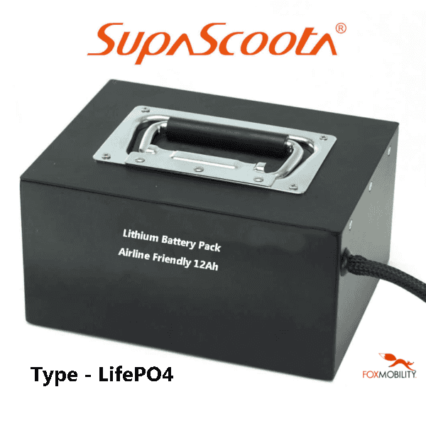 SupaScoota 12Ah Lithium Battery Pack