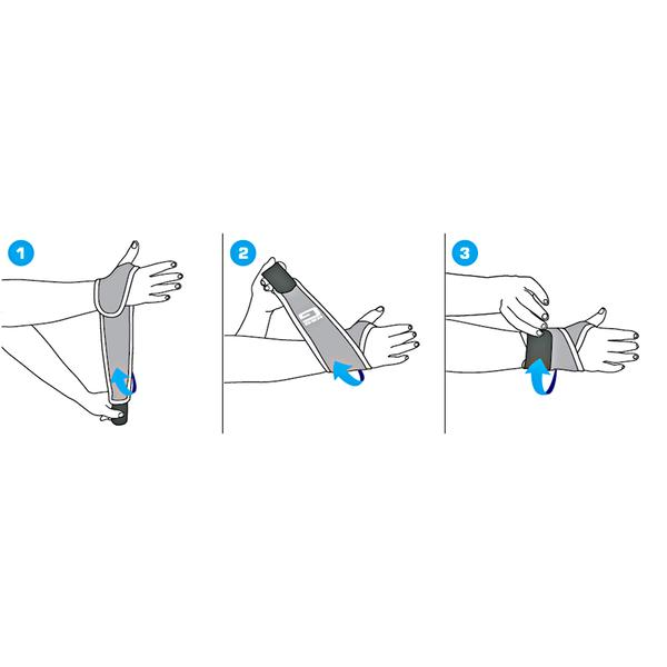 Wrist suport instructions