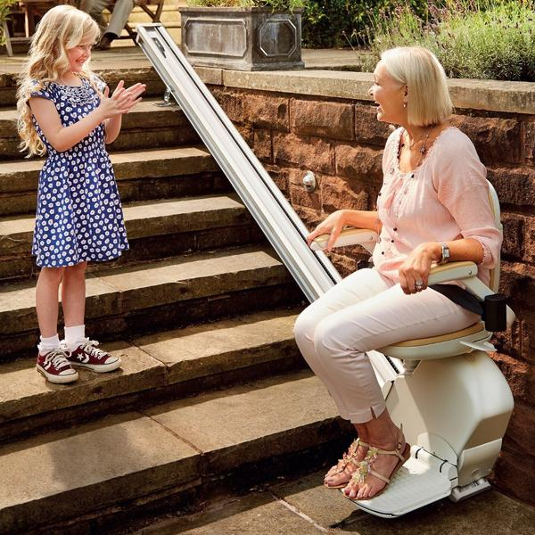 Brooks outdoor stairlift 1