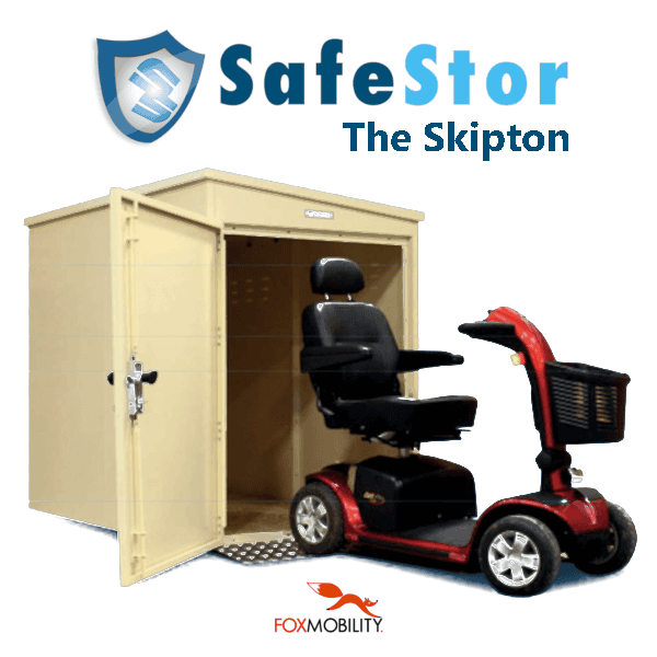 Safestor 'Skipton' Scooter Storage Unit