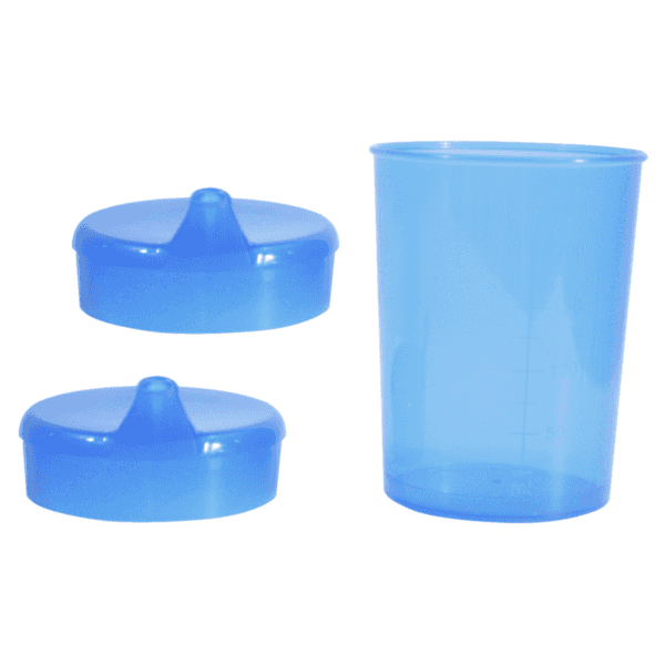 Cup with two spouts 6