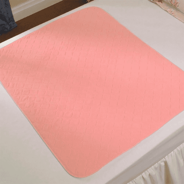 Washable Bed Pad Without Tucks/Wings